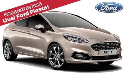 Täysin uusi Ford Fiesta Titanium ilman käsirahaa 219 €/kk! Hyödynnä mahtavat etusi!