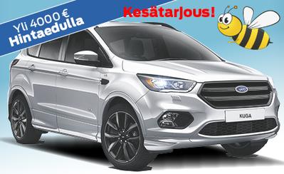 Etusi yli 4000 €! Täydellisesti varusteltu neliveto, Kuga ST-Line AWD Edition vain 40.823 € tai ilman käsirahaa 459 €/kk!