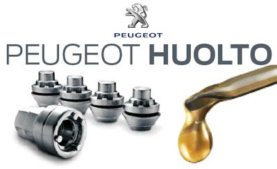 Katso täältä kaikki ajankohtaiset Peugeot-merkkihuollon tarjoukset.
