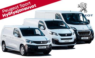 Peugeot Hyötyajoneuvot - Sport kampanjamallit tulossa!