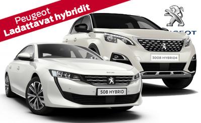 Esittelyssä täysin uudet lataushybridit! Peugeot 508 Hybrid ja 3008 Hybrid4! Rahoituskorko 1,49 % ja 5 vuoden takuu!