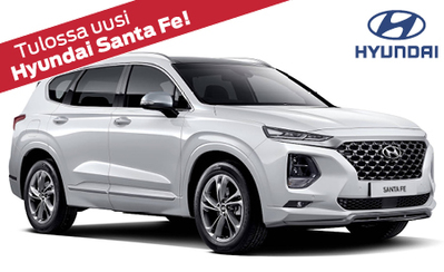 Täysin uusi Santa Fe, Hyundain SUV-malliston lippulaiva! Tulossa Suomeen loppuvuodesta 2018.