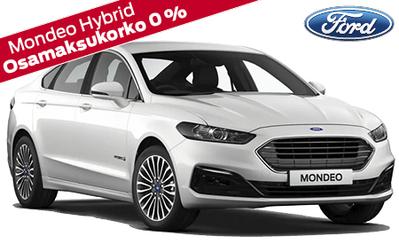 Uusi Ford Mondeo Hybrid 0 % rahoituskorolla ja 5 vuoden takuulla! 5-ovinen alk. 38.388 € ja wagon 39.192 €!