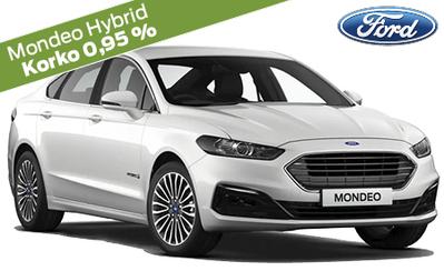 Kaikki Ford Mondeo -mallit 0,95 % rahoituskorolla ja 10.000 € arvosta S-Bonusta! Esim. Mondeo Edition Hybrid 35.895 €.