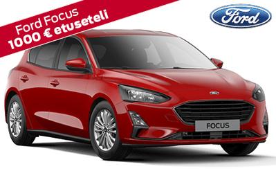 Koko laajaan Ford Focus -mallistoon osamaksukorko 1,49 %, 1000 € etuseteli ja takuu 5 vuotta! Focus-mallisto alk. 22.460 €.