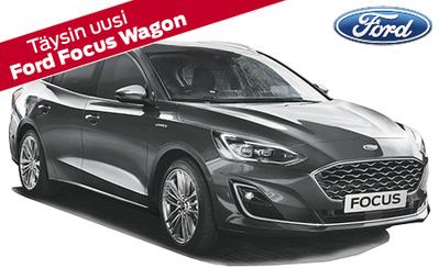 Vuoden auto 2018! Täysin uusi Ford Focus Wagon – Ensiesittelyetuna Technology Pack 199 €! Focus-mallisto alk. 22.292 €.