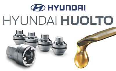 Hyundai -merkkihuollosta nyt kampanjahintaan huollot, varaosat, tarkastukset sekä lisävarusteet!