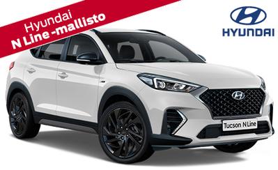N Line -varustetaso tuo Hyundai i30, i30 Fastback ja Tucson -malleihin mm. urheilullisemman ulkoasun. Tervetuloa tutustumaan!