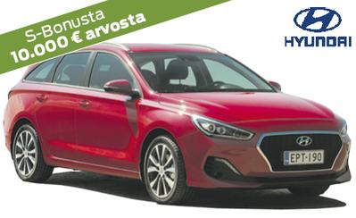 Hyundai i30 Sport Line Wagon automaatti nyt 27.980 €! Korko 0 % ja talvipaketti sekä Bonukset kaupan päälle!