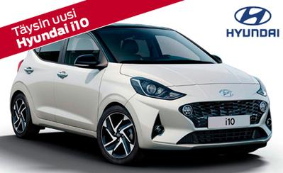 Ensiesittelyssä täysin uusi Hyundai i10! Hinnat alk. 14.590 € tai esim. 199 €/kk. Rahoitustarjouksena korko 0,7 %!