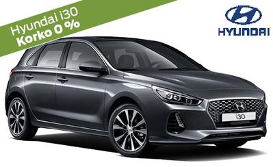 Rajoitettu erä! Hyundai i30 Comfort automaatti erikoisvarusteilla vain 23.990 €! Hintaetusi yli 2300 €! Korko 0 %!