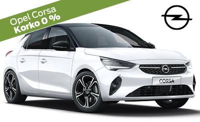 Opel Corsan erikoismalli huippuvarusteilla 25.359 €! Korko nyt 0 %, 3 kk lyhennysvapaata ja 72 kk maksuaikaa!