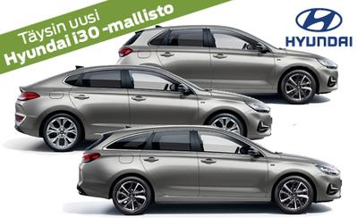 Täysin uusi Hyundai i30 -mallisto on täällä! Tutustu malliston hintoihin sekä varusteisiin ja tilaa omasi!