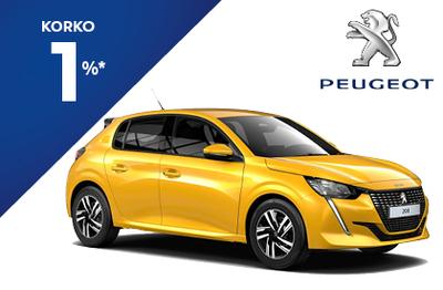 Peugeot 208 210  Anniversary -juhlamalli 1% korolla!