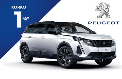 Peugeot 5008 210  Anniversary -juhlamalli 1%-korolla!