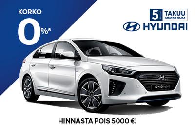 Hyundai  IONIQ Hybrid Comfort NOLLA KOROLLA ja 5000 hinnasta pois!