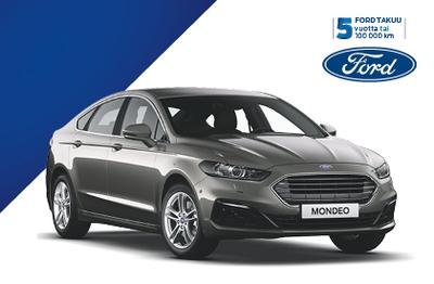 Uusi Ford Mondeo Hybrid. 1000 € alennus  esim. valinnaisvarusteisiin  ja talvirenkaisiin!