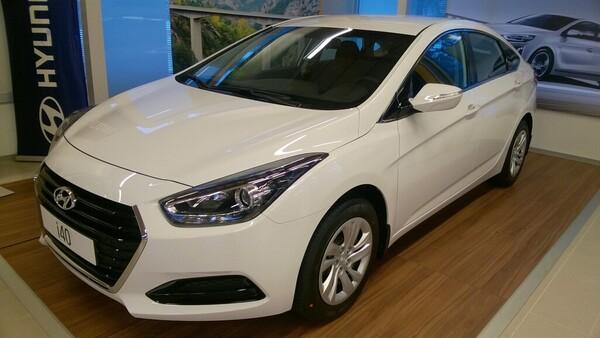Hyundai I40 SEDAN 1,6 6MT ISG Classic, vm. 2017, 0 tkm