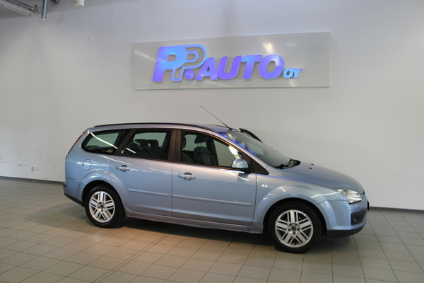 Ford FOCUS 1.6 Ghia Wagon A, vm. 2006, 169 tkm